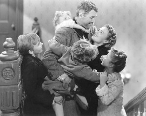 its a wonderful life great scene near the end.