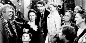 "its a wonderful life. when george bailey says, ""atta boy  Clarence"""