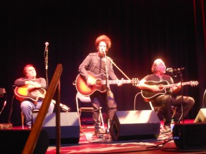 Willie Nile in acoustical session with Joe D'Urso and Joe Grushecky