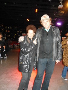 Willie Nile and me at prequel to Light of Day