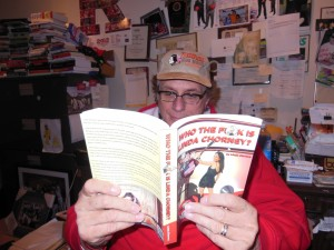 reading Linda Chorney book