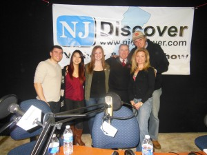 after hosting my NJ Discover radio show with Tara-Jean Vitale & guests Prof. Tim Smith fr Rutgers & Rutgers Drumline members who performed at Super Bowl & with U2/Bono for Jimmy Fallon/Tonight Show