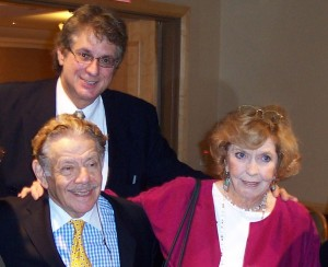 with Anne Meara and Jerry Stiller. I wished them a Happy Festivus