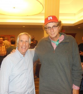 with Henry Winkler.