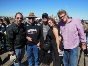 at Angels Induction with Kevin John Allen, Carl Tinker West,Vini Lopez, Carrie Potter Devening