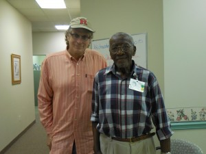 with Army Veteran Malcolm Murray (93)