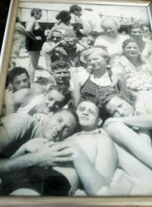 1938 Belmar. My uncles/aunts . funny thing this couid be any year on a jersey beach