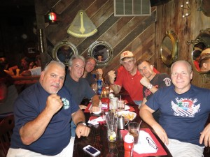 last summer with the guys meeting Cozmo with Mike Marino, John Freda, Bob Mattis, Joe Weber