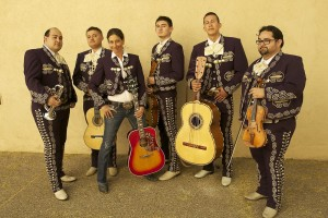 from the film, local mariachi band, Mariachi Sol Azteca
