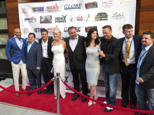 The cast & director Thomas Baldinger