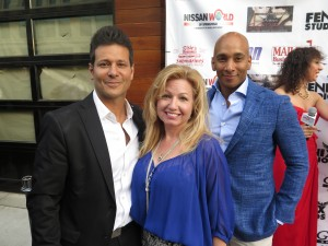 actors Bill Sorvino & Edwin Guerrero with Tara-Jean Vitale